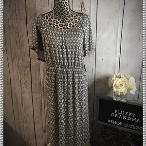 Merona Gray T-shirt dress size 16/18